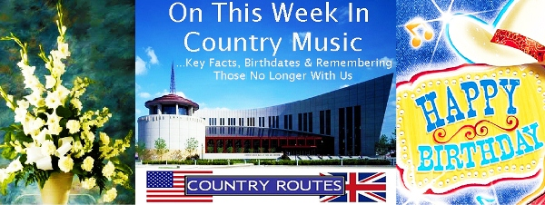 This Week In Country Music September 17th to 23rd | WHISNews21