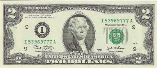 two-2-dollar-bill