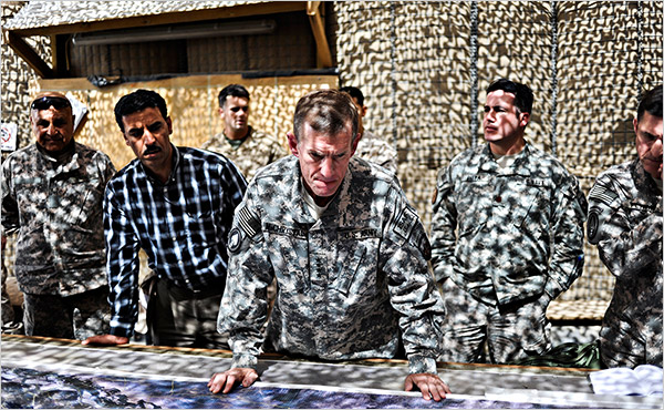 Stanley McChrystal afghan
