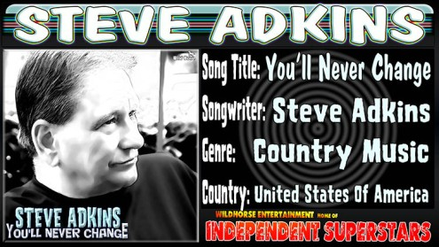 steve adkins releases new country cd on whisnews21 whisnews21. Black Bedroom Furniture Sets. Home Design Ideas