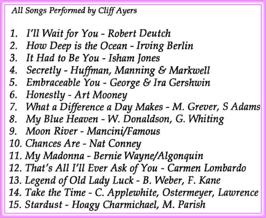 Cliff Ayers - Music Carousel #4114