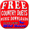 Click to download free country music by artists singing duets