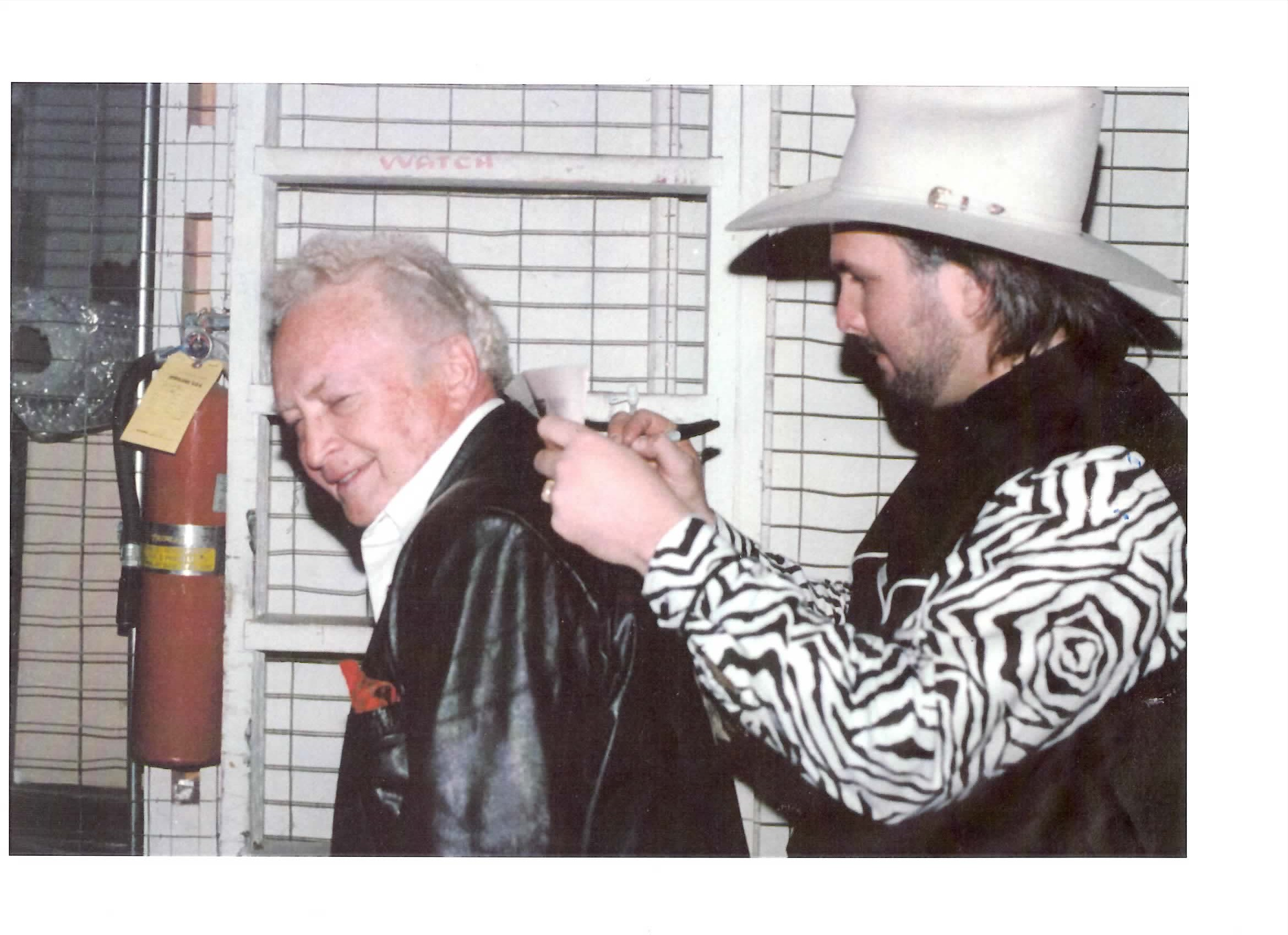 Cliff Ayers With Garth Brooks