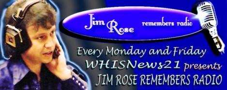 Jim Rose Remembers Radio Monday Oct 23,2017
