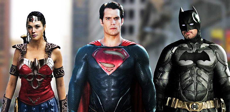 SupermanBatmanWonderWoman Ben Affleck Henry Cavill Surprise Comic Con With Batman V Superman Footage