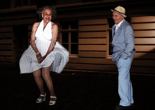 June Ingeborg Giolbass, 84, und Erich Endlein, 88