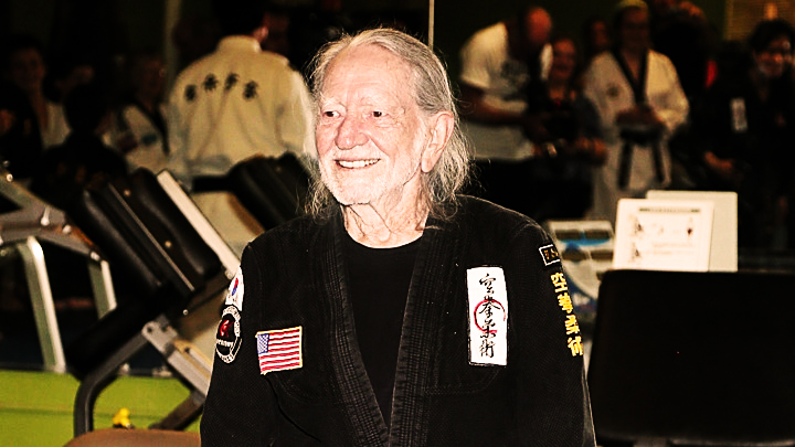 Musician Willie Nelson Gets Promoted To 5th Degree Black Belt Gong Kwon Yu Sul