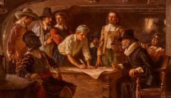 On Board The Mayflower