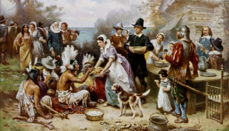 The First Thanksgiving Meal ?