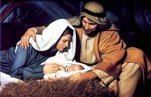 Mary, Joseph and the Baby Jesus