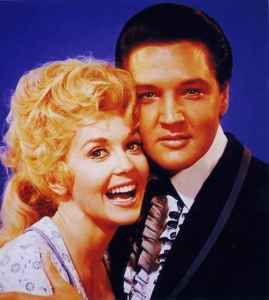 """Donna and Elvis in """"Frankie And Johnny"""""""