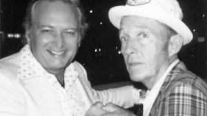 Cliff with his good friend Bing Crosby