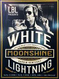 White Lightning Moonshine