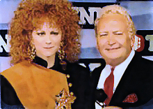 Cliff Ayers With Reba McEntire