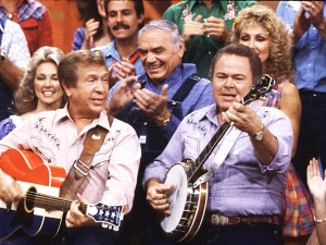 Fun on the set of Hee Haw
