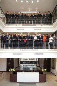 Adams & Adams Partners new building reception