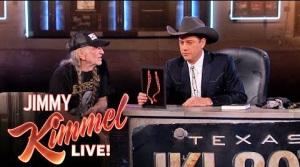 Willie On Kimmel