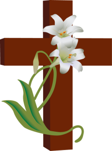 cross-with-lilies