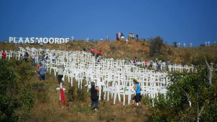 Will Prince Harry visit this the graves of thousands of white genocide victimes?