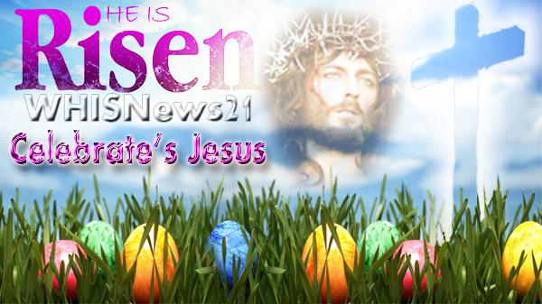 He has risen happy easter