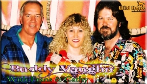 Frans & Cathy with Buddy round 1999
