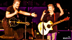 A recent concert appearance as Hunter Hayes is joined by Landon Wall