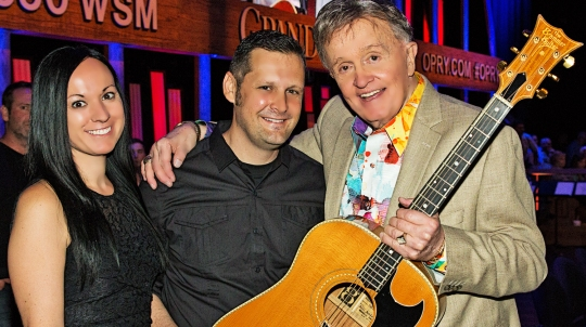 Bill Anderson with Mike and Wendie 001