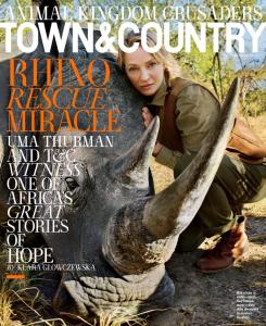 The Cover of the September Town&Country Magazine