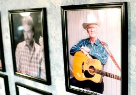 Slim Andrews' picture hangs among the 123 musicians who have been inducted into the Maine Country Music Hall of Fame.