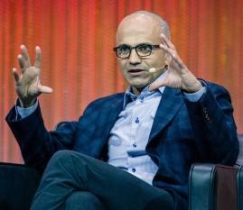 Microsoft's boss, Satya Nadella