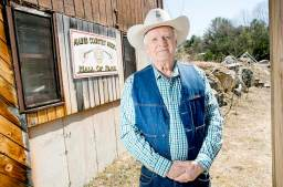 Slim Andrews of Auburn was inducted into the Maine Country Music Hall of Fame in 2002.