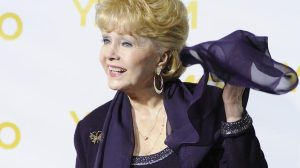 "Actress Debbie Reynolds attends the ""One For The Money"" premiere at the AMC Loews Lincoln Square theater on Tuesday, Jan. 24, 2012 in New York. (AP Photo/Evan Agostini)"
