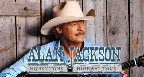 Alan Jackson to Rolls Down The Honky TonkHighway