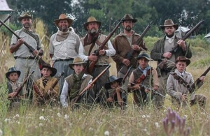 Boer farmers and their children defending their Republic against the mighty Brtish