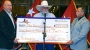 Charlie Daniels Check For $100,000 to Help Veterans