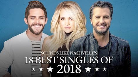 Sounds Like Nashville 188 Best Singles of2018