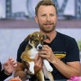 Dierks Bentley Adopts Puppy Live On Today Show